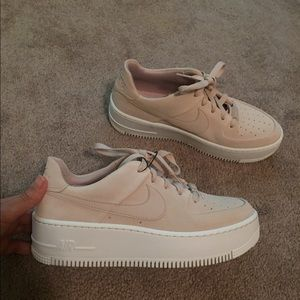 Nike Shoes - Nike Air Force 1s Sage Low